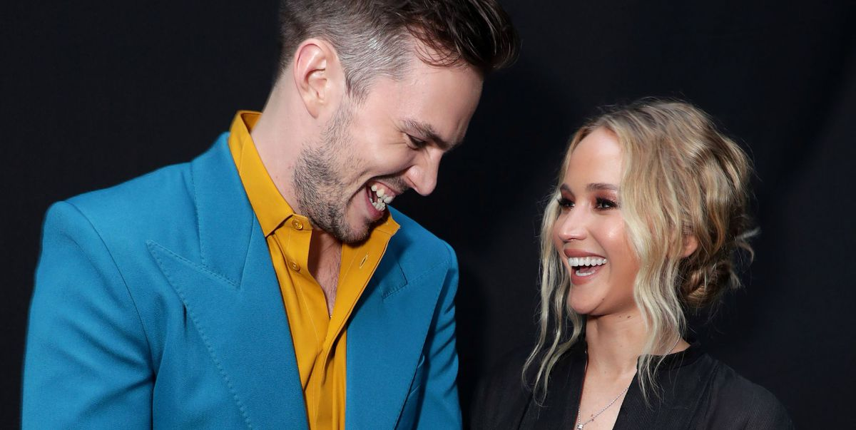 Jennifer Lawrence and Her Ex-Boyfriend Nicholas Hoult Had a Moment at the 'Dark Phoenix' Premiere