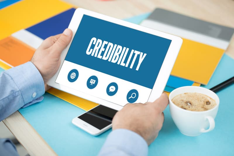 Increase your sales by increasing the credibility of your website